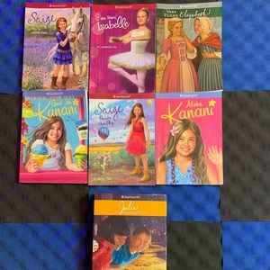 American girl book collection